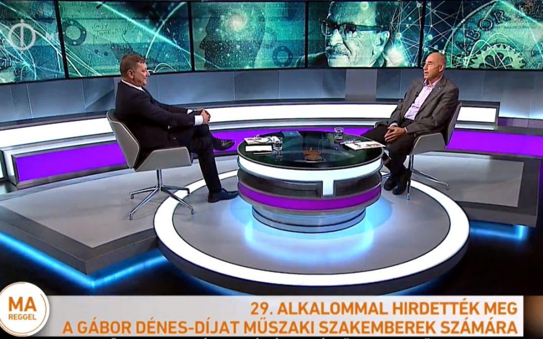 M1 TV 2017.09.12-ei riportja Jamrik Péterrel