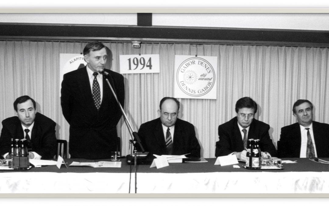Gábor Dénes-díj 1994