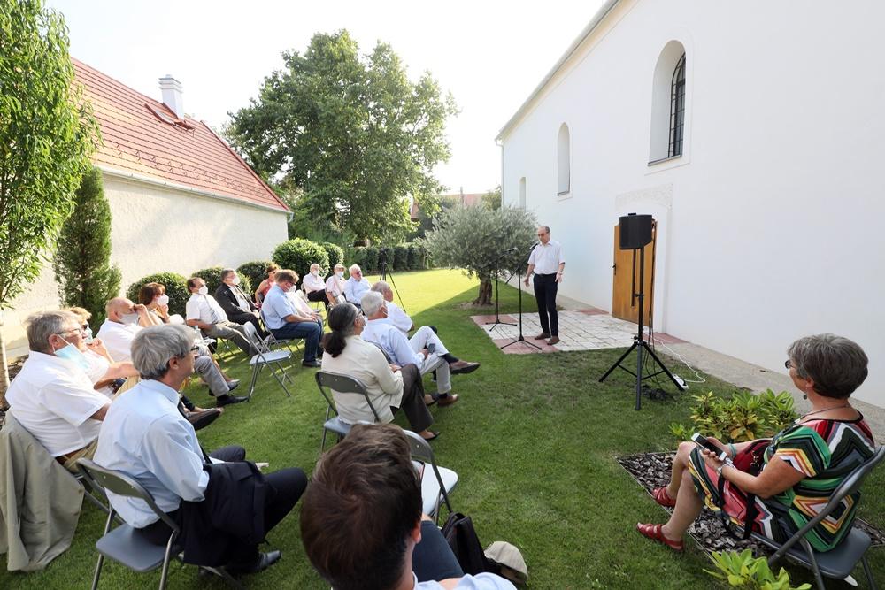 Gábor Dénes Emlékfa ültetés és Emlékülés