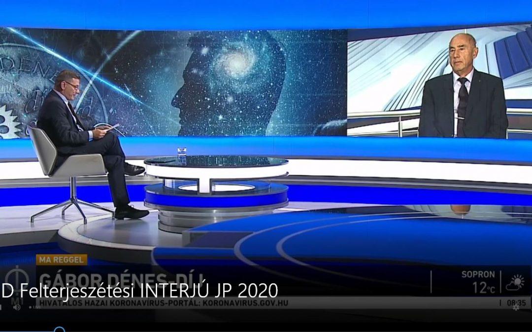 Interjú Jamrik Péterrel (MTV1 Médiaklikk 2020.10.05.)